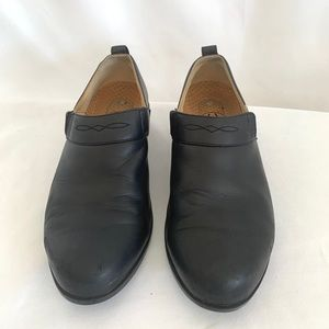 Ariat slip on leather ATS Equipped black shoe